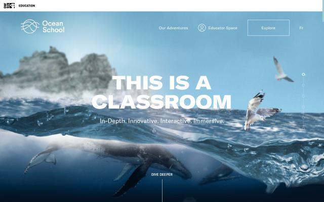 Screenshot of Oceanschool