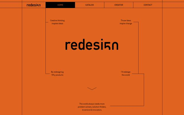 Screenshot of Redesign50