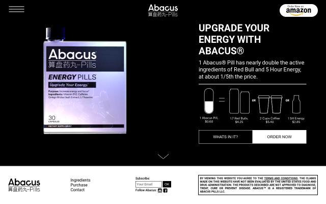 Screenshot of Abacuspills