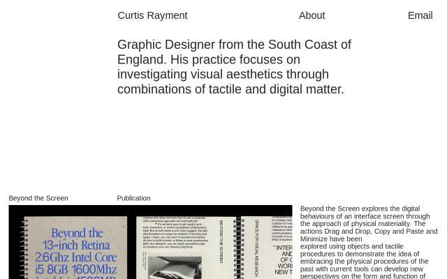 Screenshot of Curtisrayment