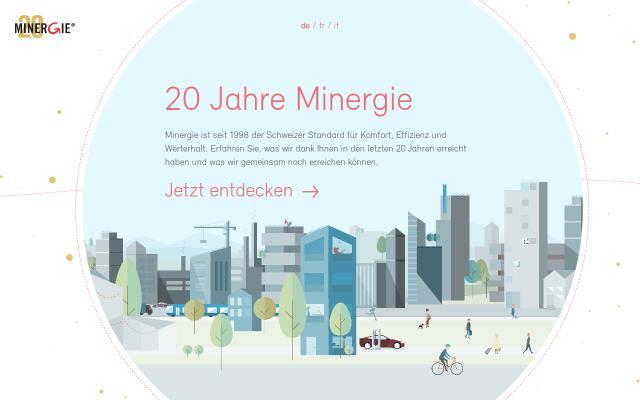 Screenshot of Minergie20