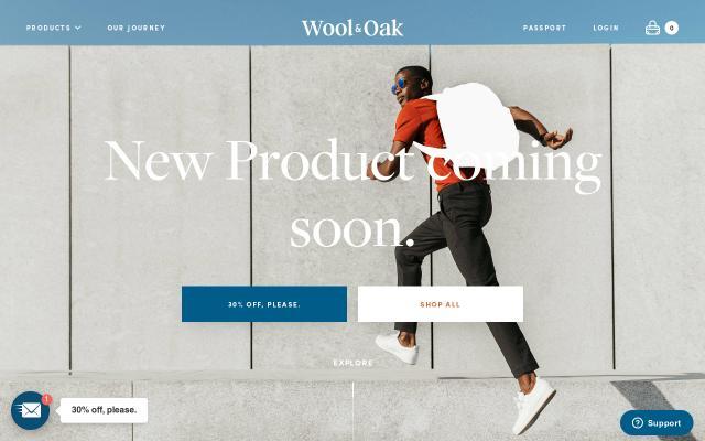 Screenshot of Woolandoak