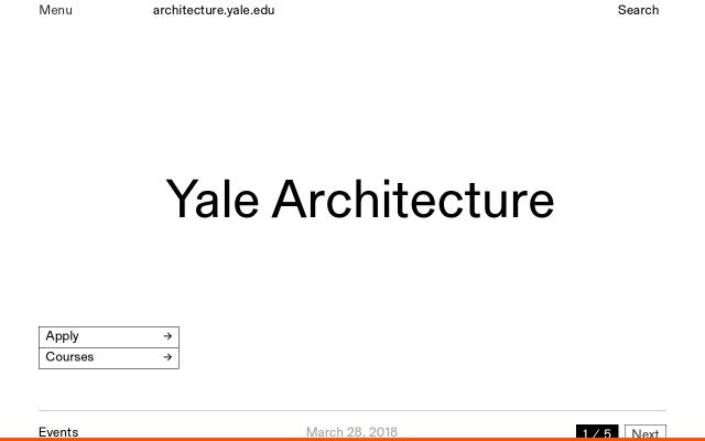 Screenshot of Architecture