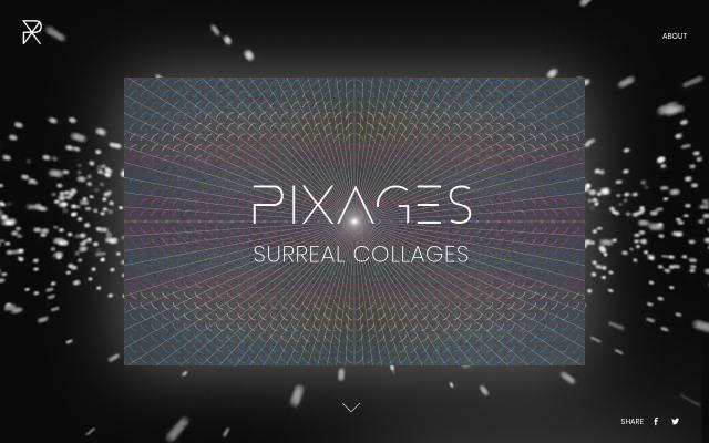 Screenshot of Pixages
