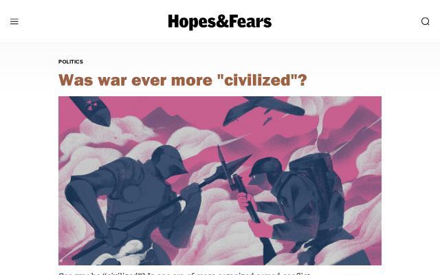 Screenshot of Hopesandfears