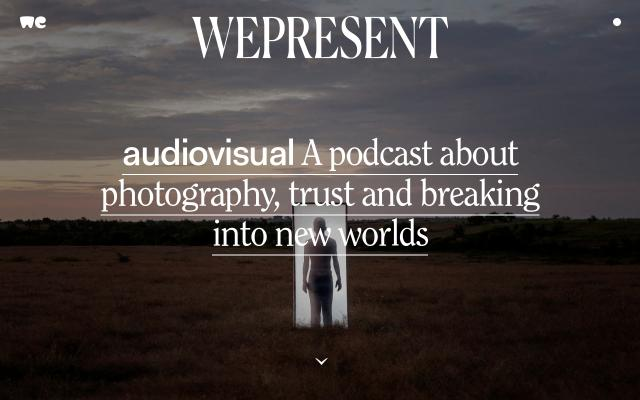 Screenshot of Wetransfer