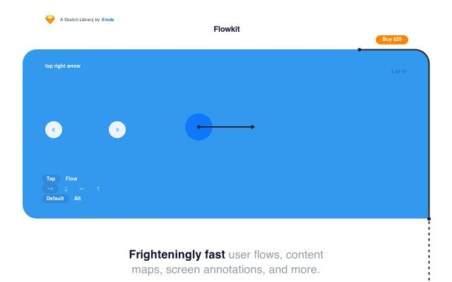 Screenshot of Sketchflowkit