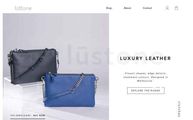 Screenshot of Lustonelabel