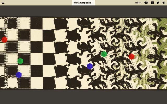 Screenshot of Escher