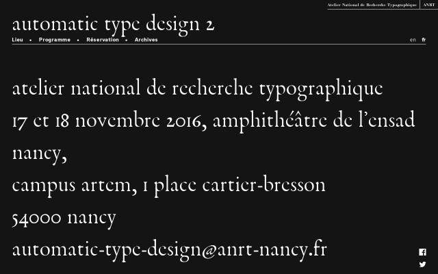 Screenshot of Automatic-type-design
