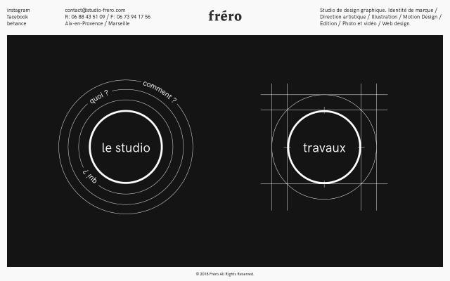 Screenshot of Studio-frero