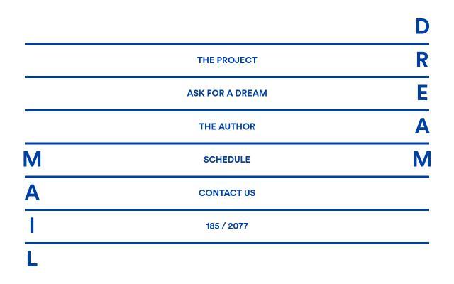 Screenshot of Dream-mail