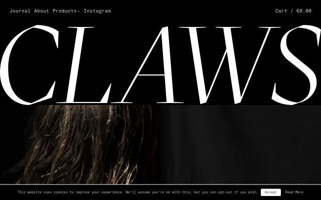 Screenshot of Claws