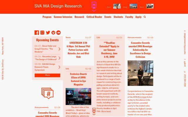 Screenshot of Designresearch
