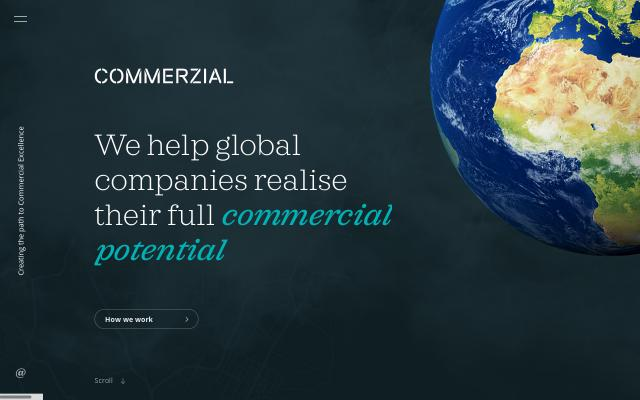 Screenshot of Commerzial