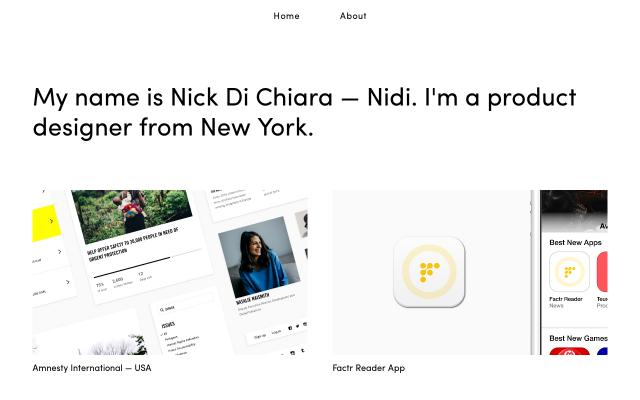 Screenshot of Nidi