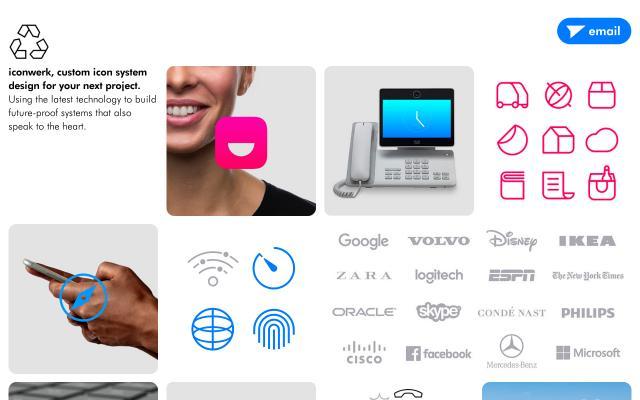 Screenshot of Iconwerk