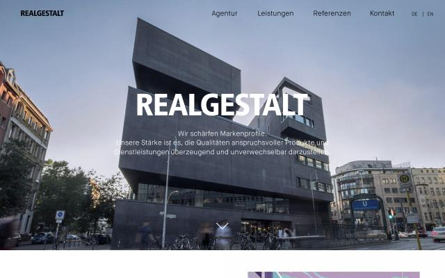 Screenshot of Realgestalt