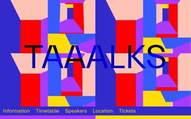 Screenshot of Taaalks