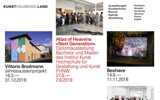 Screenshot of Kunsthausbaselland