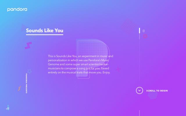 Screenshot of Soundslikeyou