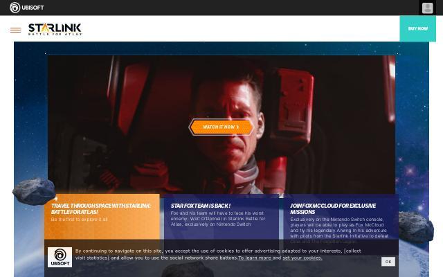 Screenshot of Starlinkgame