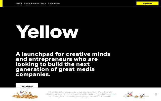 Screenshot of Yellowla
