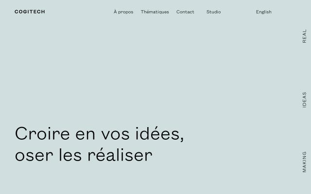Screenshot of Cogitech
