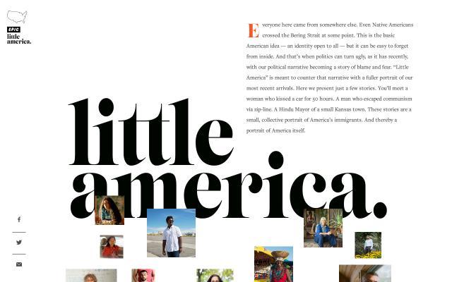 Screenshot of Epicmagazine