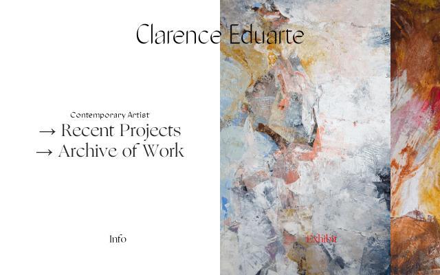 Screenshot of Clarenceduarte