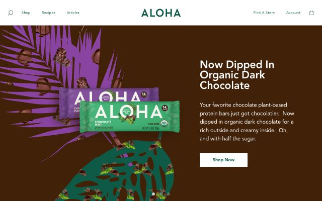Screenshot of Aloha