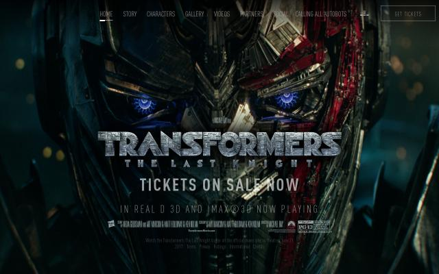 Screenshot of Transformersmovie