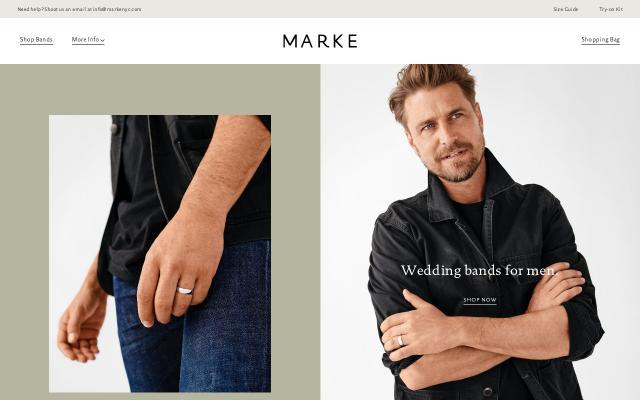 Screenshot of Markenyc