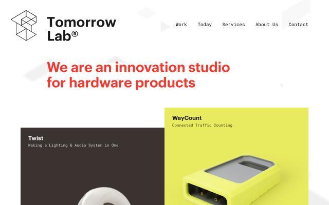 Screenshot of Tomorrow-lab