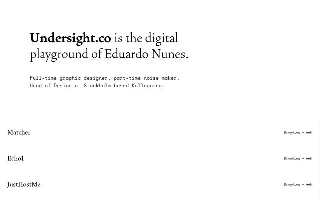 Screenshot of Undersight