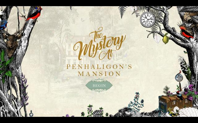 Screenshot of Penhaligons