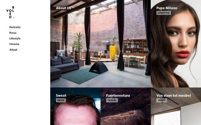 Screenshot of Studiovolbloed