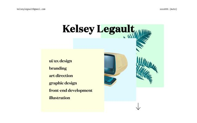 Screenshot of Kelseylegault