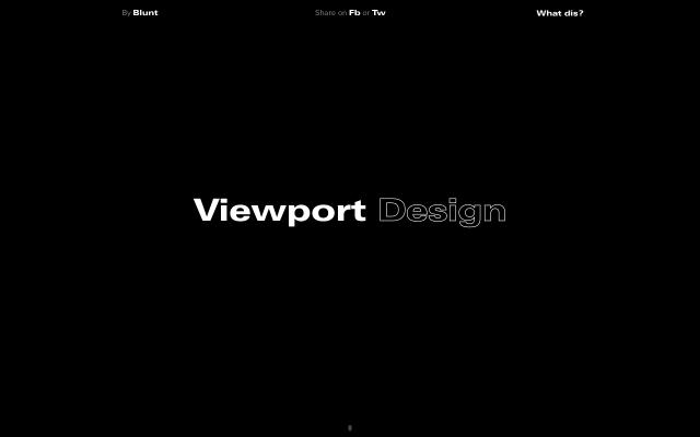 Screenshot of Viewport