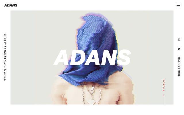 Screenshot of Adans