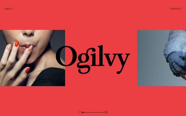 Screenshot of Ogilvy
