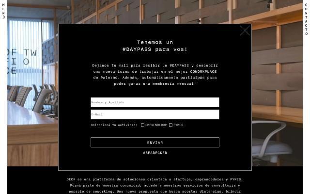 Screenshot of Deck-co