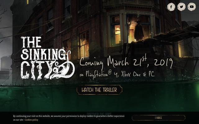Screenshot of Thesinkingcity