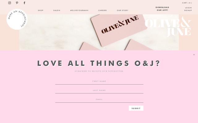 Screenshot of Olivejune
