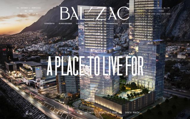 Screenshot of Balzac