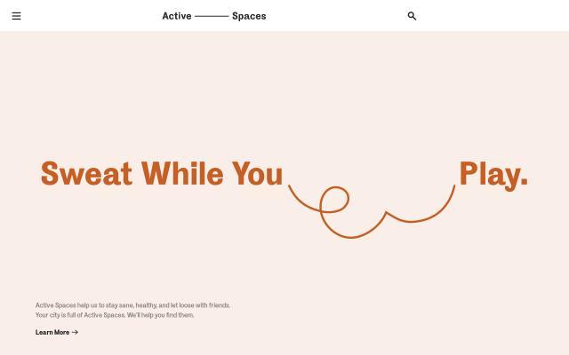 Screenshot of Active-spaces