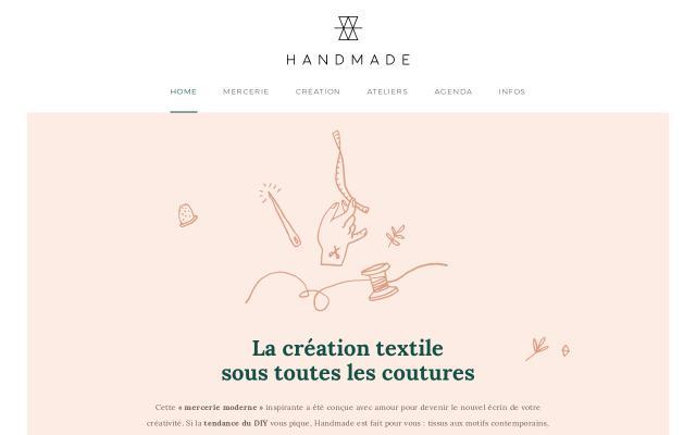 Screenshot of Byhandmade