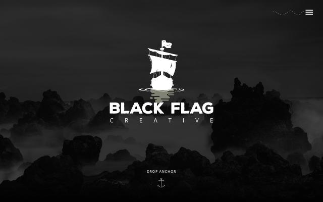 Screenshot of Blackflagcreative