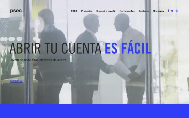 Screenshot of Psec