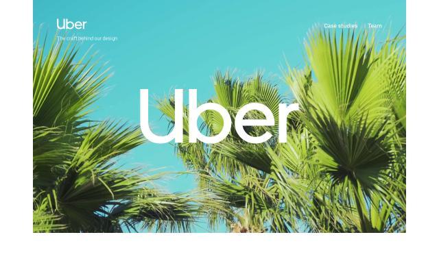 Screenshot of Uber